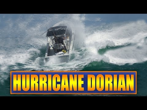 Hurricane Dorian Approaching Florida   Boats at Haulover Inlet