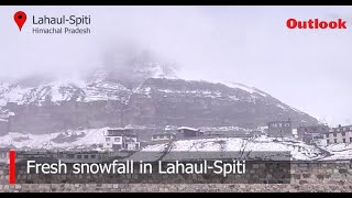 Himachal Turns White After Unexpected Snowfall
