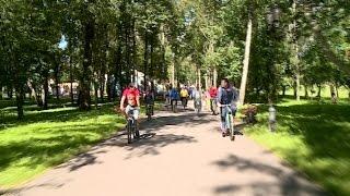 В Великом Новгороде прошли праздничные мероприятия, посвященные Всероссийскому дню физкультурника