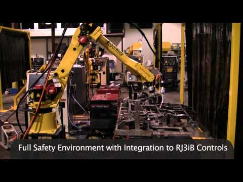 Safety Features of a Fanuc Welding System