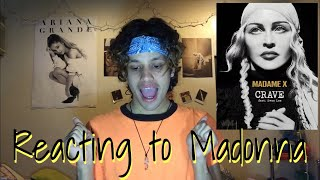 Reacting To Madonna   Crave Ft Swae Lee ( Music Audio Reaction )