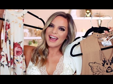 SUMMER CLOTHING HAUL & TRY ON!! NEW SITES I LOVE!! | Casey Holmes