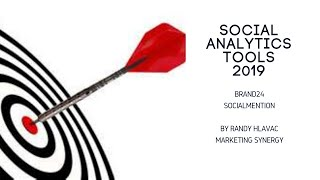 Social Analytics Tools 2019