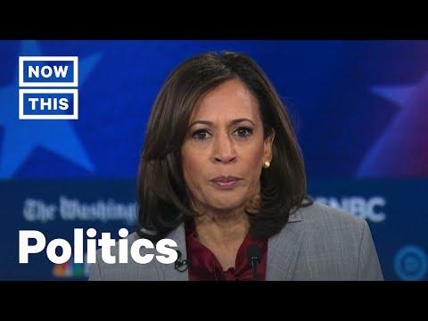 Kamala Harris Says Democrats Take Black Women for Granted at the Democratic Debate | NowThis