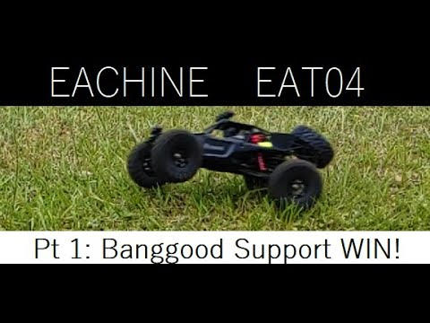 GhostRyderFPV - EACHINE EAT04 and Banggood Support EPIC WIN!