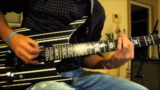 Avenged Sevenfold- Bat country guitar cover