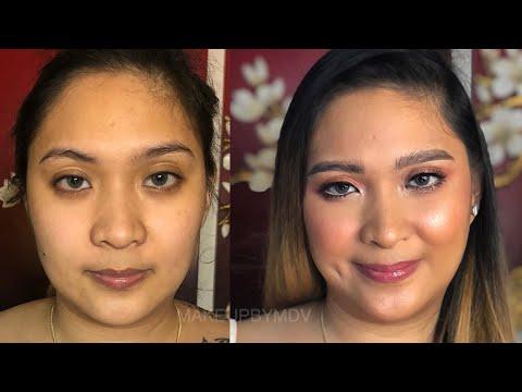 Daytime Glittery Makeup