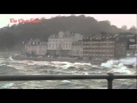 Oban December 8 storm