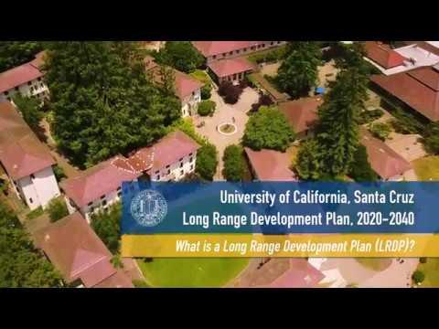 What is a Long Range Development Plan (LRDP)?