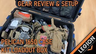 Pelican 1650 Kit Load Out Box