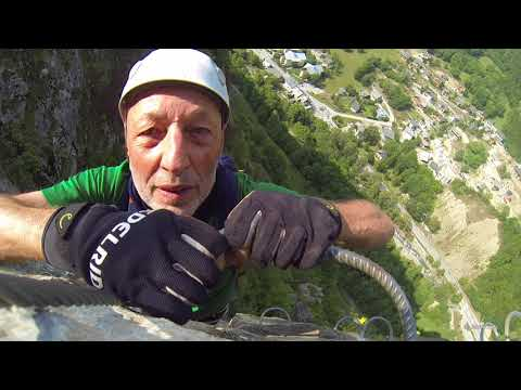 Ferrata Le Rocher Saint-Pierre 1 + 2 /2017