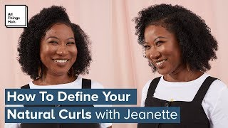 How To Define Your Curls | Curly Hair Tutorial