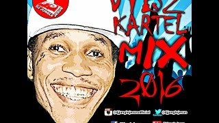 ♫Vybz Kartel CloseD CASKET/NERD- Mavado & Alkaline Diss Dancehall Mix Vol. 2 FEBRUARY 2017
