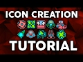 Geometry Dash- MAKE YOUR OWN ICONS! (Tutorial)