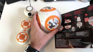 Star Wars BB-8 Hasbro einrichten und kurzer Test