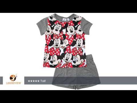 Minnie Mouse 2016 Schlafanzug Shorty 92 98 104 110 116 122 128 Mädchen Shortie Disney Pyjama Kurz