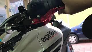 Motovlog #9 Brems-Kupplungshebel Einstellung an der Aprilia Tuono V4