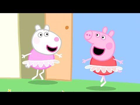 ペッパピッグ バレエのレッスン  1時間 エピソードコンピレーション   子供向けアニメ
