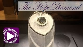 The Hope Diamond at the National Museum of Natural History