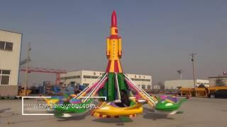 Sanqgroup hot selling popular amusement attraction funfair rides self control plane