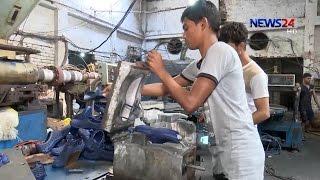Footware Industry in BD 01/02 দেশের চাহিদা মিটিয়ে বিদেশেও রপ্তানি হচ্ছে বাংলাদেশি জুতা