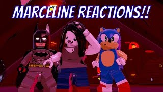 LEGO Dimensions Marceline The Vampire Queen Reactions #1 - Sonic, Batman, Kai, Dr  Who, Finn & More
