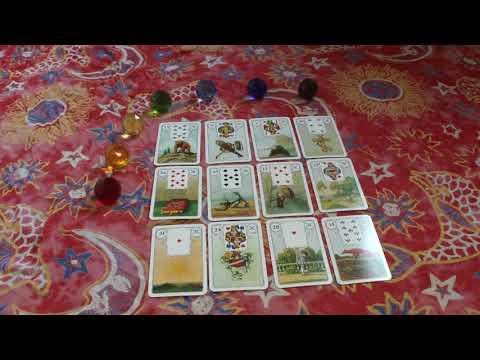 + HERZENSMANN + Seelenpartner Orakel + liebt er mich wirklich + Lenormand Karten (видео)