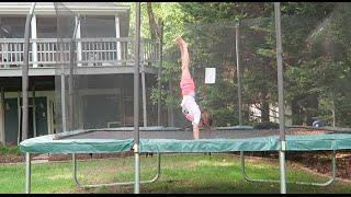 Alphabet Gymnastics Challenge | ElleoNyaH