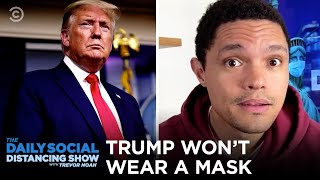 "Trump Won't Wear Mask as U.S Nears ""Pearl Harbor"" Moment 