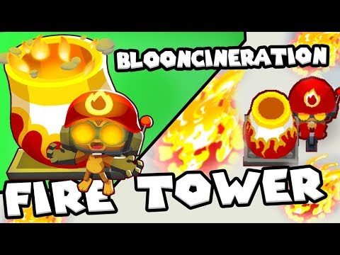 Bloons TD 6 - Blooncineration Tower - Tier 5 Mortar Monkey | JeromeASF