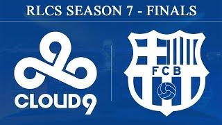 C9 vs Barcelona | RLCS Season 7 - Finals (23rd June 2019)