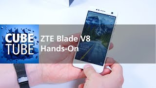 ZTE Blade V8 mit Dual Kamera - Hands On - deutsch HD