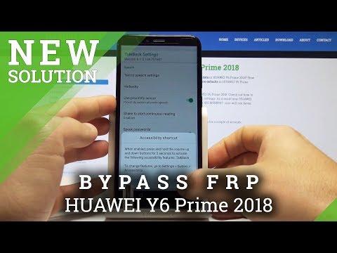 Hard Reset Huawei Y6 2018