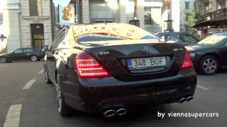 Pure sound of a Mercedes S 63 SPR AMG