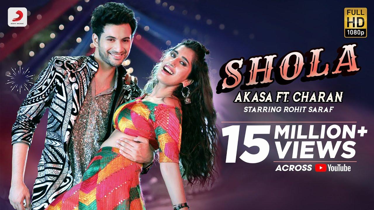 Shola | AKASA ft. Charan | Rohit Saraf | Party Hit Song 2021| Akasa & Charan  Lyrics