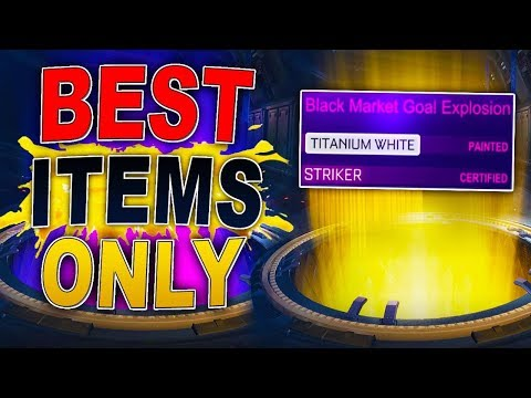 I was bored so opened some crates in Rocket League... I've NEVER done this before! | BEST ITEMS ONLY