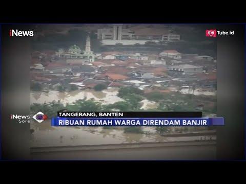 Begini Penampakan Sejumlah Wilayah Jakarta dan Tangerang Dikepung Banjir - iNews Sore 26/04