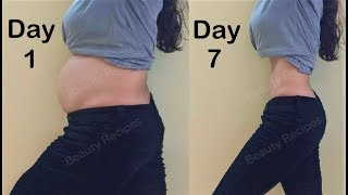Simple Exercise to Lose Belly Fat in 1 Week - Easy Workout to Lose stomach fat, Get Small tiny waist