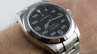 Rolex Oyster Perpetual Air-King 116900 Luxury Watch Review