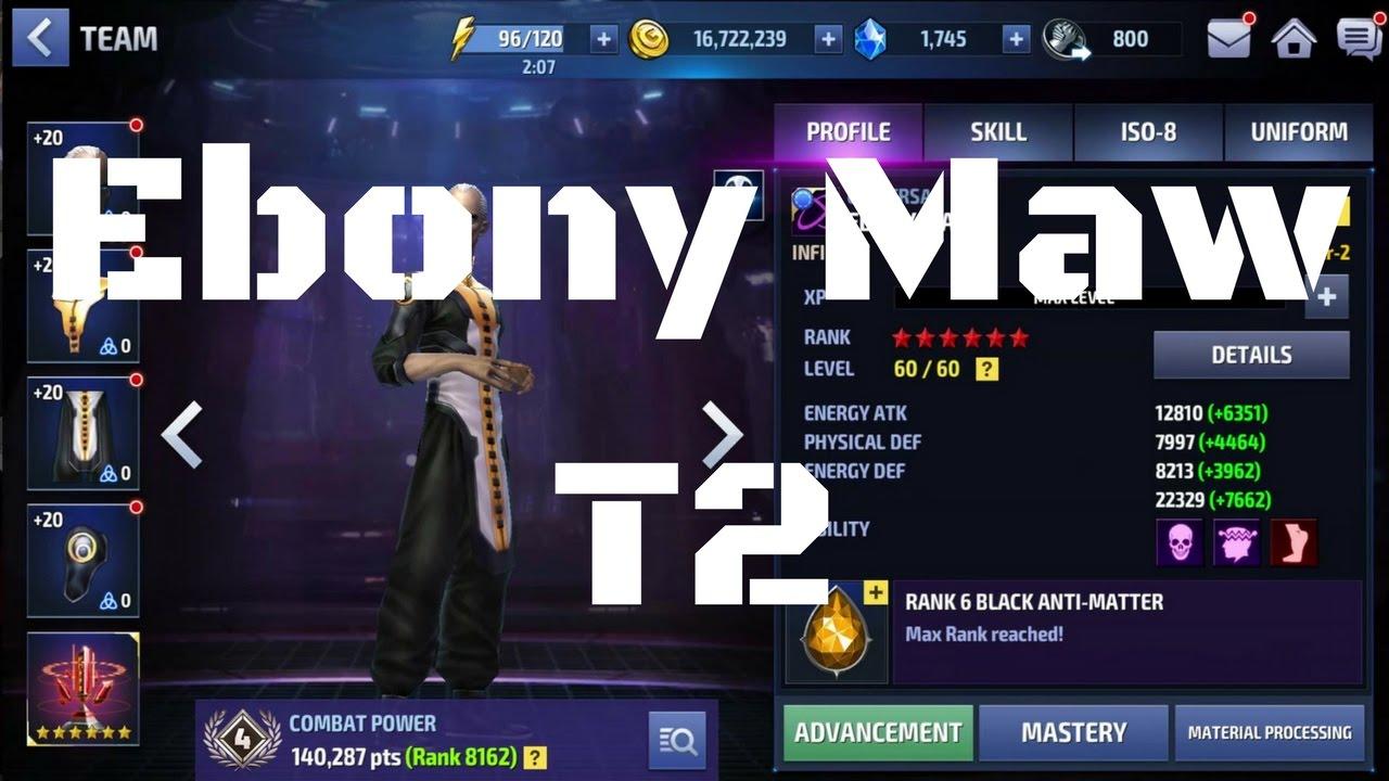 รีวิว Ebony Maw T2