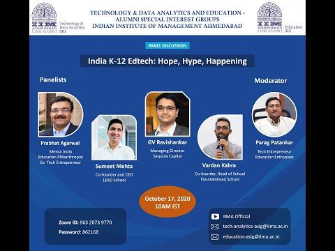 India K-12 Edtech: Hope, Hype, Happening
