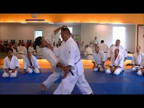 Nariyama Shihan - teaching Kote Hineri (4)