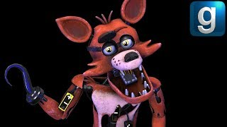 Gmod FNAF | Sexy Foxy Moves In With Golden Freddy - Xman 723