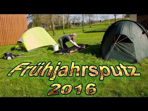 Frühjahrsputz im Zelt 2016