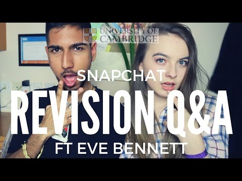 Revision Q&A Show Eve Bennett & Ibz Mo