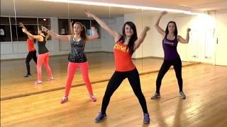 Танцевальная тренировка Zumba для похудения