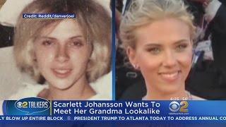 Scarlett Johansson Wants To Meet Her Grandma Lookalike