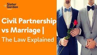 Civil Partnership vs Marriage | The Law Explained