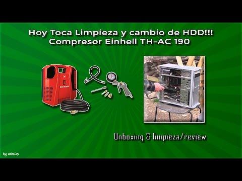Hoy toca Limpiar el PC (y cambio de disco) español