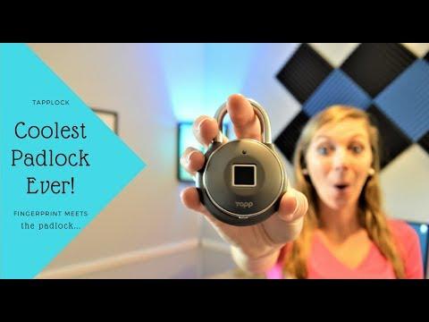 Tapplock – Review – World's First Smart Fingerprint Padlock!